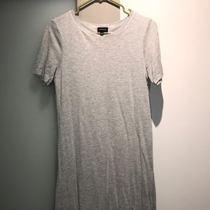 Who What Wear Gray Short Sleeve Maxi Dress Size XS